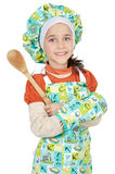 Adorable future cook Stock Photo