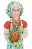 Adorable future cook Stock Photos
