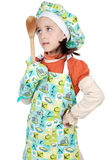 Adorable future cook Stock Images