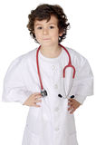 Adorable future doctor Royalty Free Stock Photos