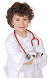 Adorable future doctor Stock Photo