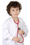 Adorable future doctor Royalty Free Stock Image