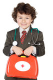 Adorable future doctor Royalty Free Stock Images