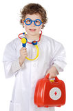 Adorable future doctor Royalty Free Stock Photography