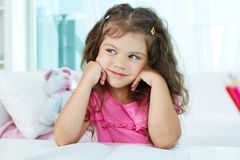 Adorable girl Stock Image