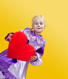 From clown with love Royalty Free Stock Photos