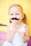 Adorable girl at party Royalty Free Stock Photos