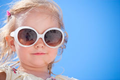 Adorable girl summer portrait Royalty Free Stock Photo