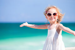 Adorable girl on vacation Royalty Free Stock Photography