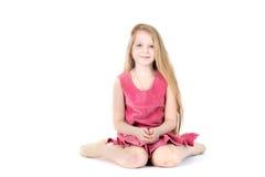 Adorable girl 9 year old Stock Photos