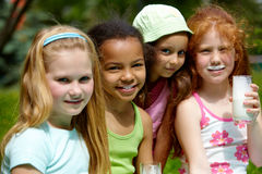 Adorable girls Royalty Free Stock Photo
