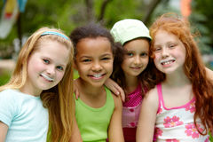 Adorable girls Royalty Free Stock Images