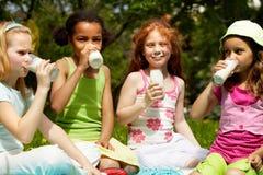 Adorable girls Stock Photos