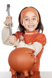 Adorable gril royalty free stock photo