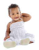 Adorable happy baby Stock Image