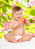 Adorable happy baby Royalty Free Stock Photo