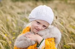 Adorable happy smiling kid Royalty Free Stock Photo