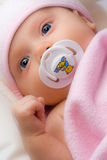 Adorable infant. stock image