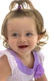 Adorable Joyful Young Caucasian Girl Royalty Free Stock Images