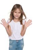 Adorable joyful young girl Royalty Free Stock Photo