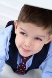 Adorable kid in costume Royalty Free Stock Photos