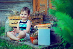 Adorable kid Stock Images
