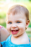 Adorable, laughing baby Royalty Free Stock Photography