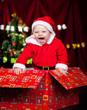 Adorable laughing kid Royalty Free Stock Image