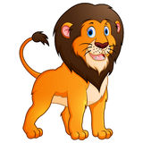 Adorable lion cartoon Stock Photo