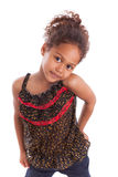 Adorable little African Asian girl Royalty Free Stock Image