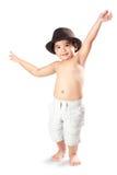 Adorable little asian boy Stock Images
