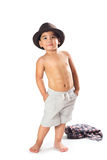 Adorable little asian boy Royalty Free Stock Photos