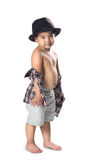 Adorable little asian boy Royalty Free Stock Images