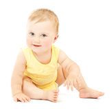 Adorable little baby Stock Image