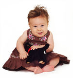 Adorable little baby Royalty Free Stock Photo