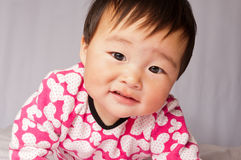 Adorable little baby girl Royalty Free Stock Photography