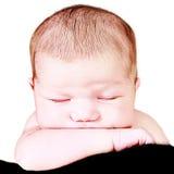 Adorable little baby girl Royalty Free Stock Photos