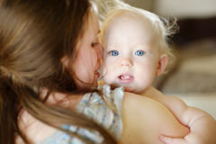 Adorable little baby girl portrait Stock Photography