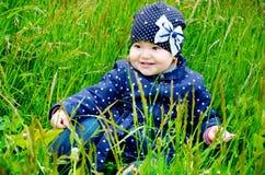 Adorable little baby Stock Photos
