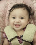 Adorable little baby smiling Royalty Free Stock Photography