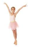 Adorable little ballerina Stock Photos