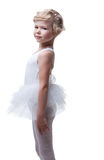 Adorable little ballerina posing in tutu Royalty Free Stock Photo