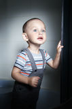 Adorable  little boy Royalty Free Stock Images