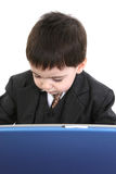 Adorable Little Businessman Royalty Free Stock Photography