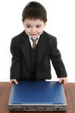 Adorable Little Businessman Royalty Free Stock Photos
