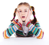 Adorable little girl Stock Photography