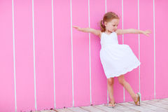 Adorable little girl Royalty Free Stock Photos