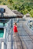 Adorable little girl at beach. Adorable little girl outdoors during summer vacation royalty free stock image