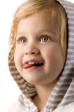 Adorable little girl  closeup Royalty Free Stock Photo