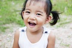 Adorable Little Girl. A little girl in a garden Stock Image